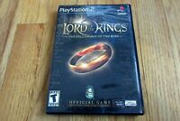 Lord of the Rings: The Fellowship of the Ring (PC, 2002) With Manual