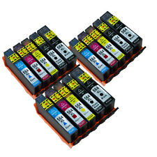 15 Pack Ink Cartridge For HP 564XL Black/Color PhotoSmart 7510 7520 7525 Printer