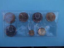 Portugal 7 coins complete set 1 - 200 escudos 2001 2 Bimetal UNC Last Escudos
