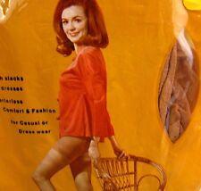Seamless Stretch Panty Hose Suntone Medium Tall 120-150 lbs Vintage NEW Kresge
