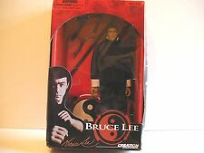 "Bruce Lee 1999 Creation Entertainment 12"" Figure NEW BLK GI (FREE SHIP/GIFT)"