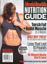 Men's Health Special - Nutrition Guide (2016)  NEW - FREE SHIP!