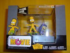 McFarlane THE SIMPSONS MOVIE BART SHERRI TERRI DOODLE DOUBLE DARE BOX set SOUND