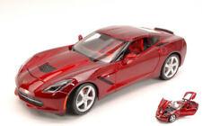 Chevrolet Corvette Stingray 2014 Metallic Red 1:18 Model 31182R MAISTO