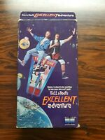 BILL & TED'S EXCELLENT ADVENTURE VHS 1989 Keanu Reeves George Carlin