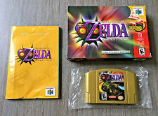Complete in Box Nintendo 64 Game ~ Legend of Zelda: Majora's Mask ~ Collector's