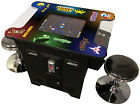 CLASSIC ARCADE COMMERCIAL COCKTAIL TABLE 60 GAMES FREE STOOLS