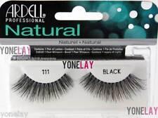 Lot 10 Pairs ARDELL Natural 111 False Eyelashes Fake Strip Eye Lashes Black Lash