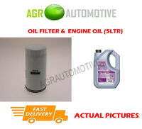 PETROL OIL FILTER + FS 5W30 ENGINE OIL FOR FORD ORION 1.8 131 BHP 1991-93