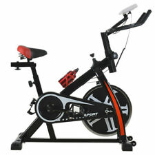 FDW SPB-1508 Fitness Stationary Bike - Black/Red