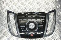 FORD C-MAX MK2 SONY RADIO CONTROLS FASCIA (NOT SAT NAV) 2011-2015 AP63