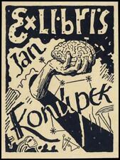 Rytir Vaclav 1938 Exlibris Bookplate Medicine 105