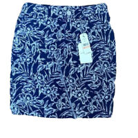 Tommy Bahama Women's mar-a-sketch denim Jean skirt size 2 NWT MSRP $125