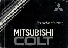 MITSUBISHI COLT 2 Betriebsanleitung 1986 Bedienungsanleitung Handbuch BA