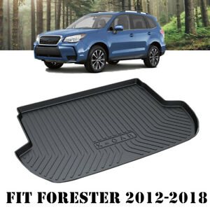 Heavy Duty Rubber Cargo Waterproof Mat Boot Liner for Subaru Forester 2012-2018