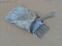 Vintage Primitive Cranberry Rake Bog Scoop New England Maine Barn Find