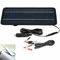 4.5W 12V Car Boat Yacht Solar Panel Trickle Battery Charger Outdoor Power Backup
