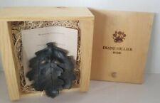 Vintage Diane Hillier Bronze Door Knocker Oak Leaf & Acorns In Wood Box