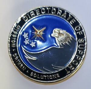 Central Intelligence Agency CIA Directorate Of Support Challenge Coin