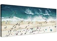 Beach Waves Canvas Pictures - Beach Wall Art Prints