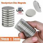 Super Strong Fridge Magnet Thin Round Disc Rare Earth Neodymium