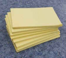 "8 Pads of 40 sheets 3 x 5"" Yellow Color Scratch / Note Pads"