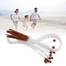 12x Afghanische Nadel Set Tunesische Bambus Häkelnadel Acryl Stricknadeln 3-10mm