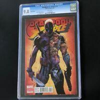 Deadpool vs. X-Force #1 🔥 CGC 9.8 🔥 J. Scott Campbell Variant Marvel 2014