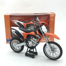 Newray KTM 350SX-F Motocross Motorcycle Model Toy 1:12