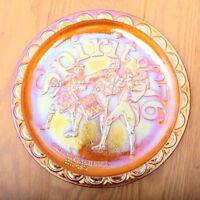 Indiana Glass Spirit of '76 Bicentennial Plate Iridescent
