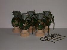 Golf Ball grenade Desk Ornament Keychain Ultimate Golf Gift 5-Pack
