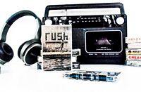 Rush: Roll The Bones (1991, Atlantic Records, 7 82293-4) ~ Cassette Tape