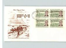 Canada; Red River Settlement First Day of Issue, Bl/4