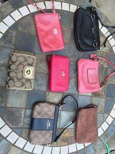Coach F87590 Leather Wallet - Black