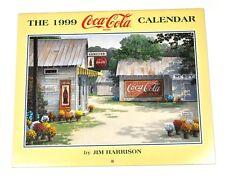 Bel vecchio Coca-Cola Calendario 1999 USA Coca Cola calendario