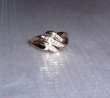 10K White Gold White Diamond Round Band Ring, Size 7, 0.32(TCW), H-I / SI3-I2
