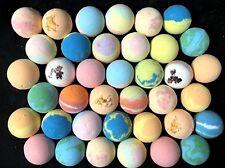 Bath Bombs Fizzies Lot/Set of 8 FRUITY Fragrances 2.5 -3 oz Lush Luxurious Fruit