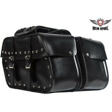 HARLEY YAMAHA HONDA SHADOW AERO SPIRIT 750 1100 WATERPROOF SADDLEBAGS