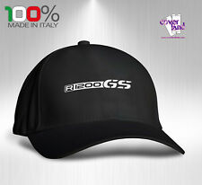 Cappello Berretto Hat Cappellino Houston 5 pannelli NERO - BMW R1200GS GS 1200