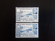 rare timbre Nouvelle-Calédonie variété sans valeur yt 194a XX