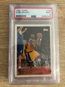 1996-97 Topps Kobe Bryant RC #138 PSA 9