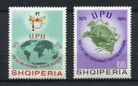 23260) Albania 1974 MNH New 100 Years Upu 2v