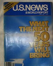 """U.S. News & World Report """"What the Next 50 Years Will Bring,"""" Mar. 9, 1983"""