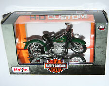 Maisto - Harley Davidson 1936 EL KNUCKLEHEAD - Model Scale 1:18