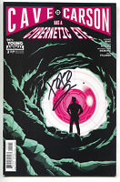 Cave Carson Has A Cybernetic Eye 2 B DC Young Animals 2017 NM Signed Gerard Way