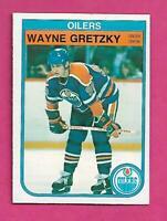 1982-83 OPC # 106 OILERS WAYNE GRETZKY EX-MT  CARD (INV# C7743)
