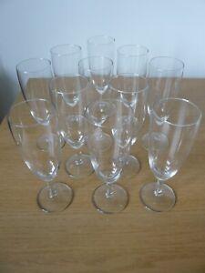 Eleven sparkling wine glasses 125 ml