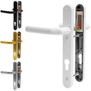 Upvc Poignée de porte HOPPE Birmingham à ressorts 92 mm PZ Double Vitrage Paire Set PVC
