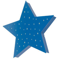 ikea smilla stern blau wandleuchte wandlampe kinderzimmer lampe ebay. Black Bedroom Furniture Sets. Home Design Ideas