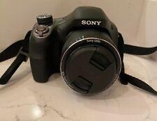 Sony Cyber-shot DSC-H400 20.1MP Digital Camera - Black